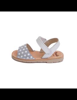 Pénota Shoes Sandales Cuir Pois