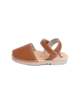 Pénota Shoes Chestnut Brown Leather Sandals