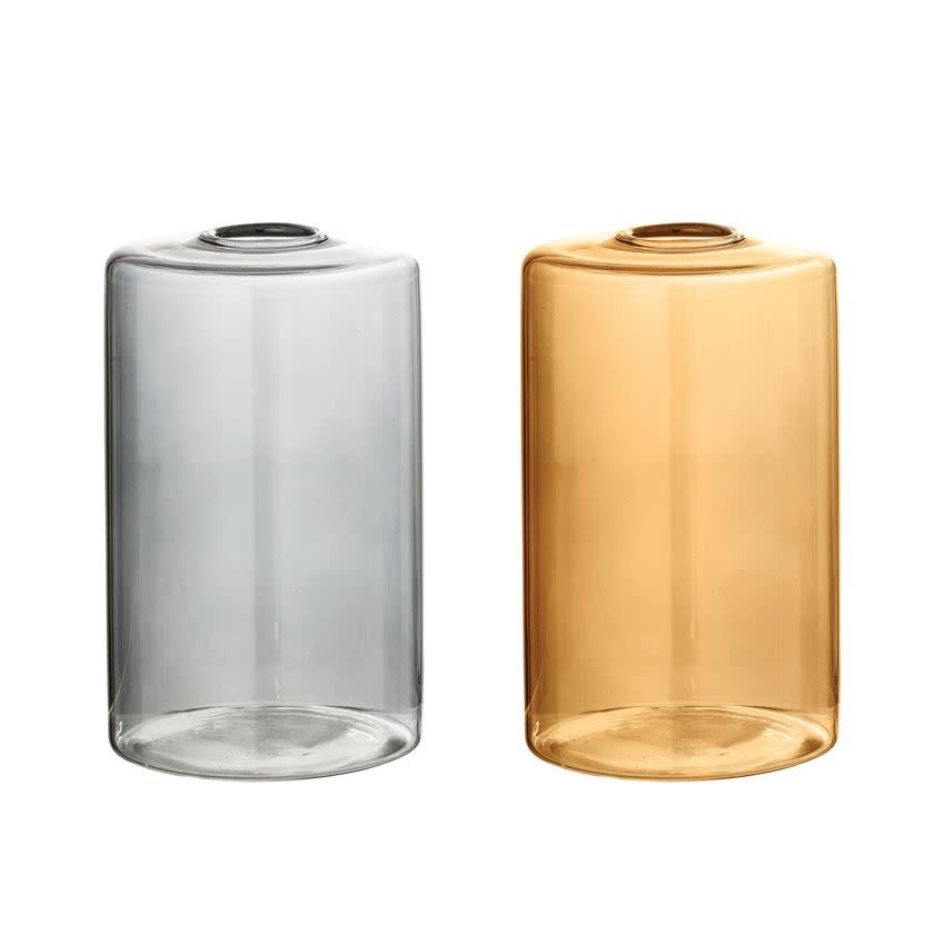 Bloomingville Simple Glass Vase - Color Choices