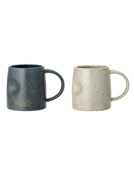 Bloomingville Matte Stoneware Mug - 2 colors