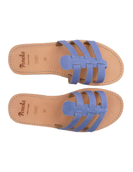 Pénota Shoes Mediterranean Blue Sandals