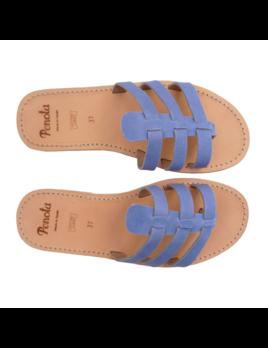 Pénota Shoes Sandales Méditerranée Bleu