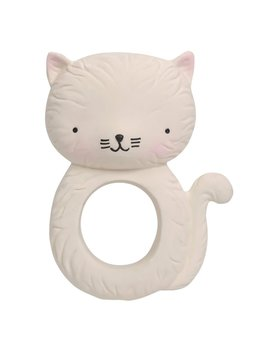 Little Lovely White Kitty Teething Toy