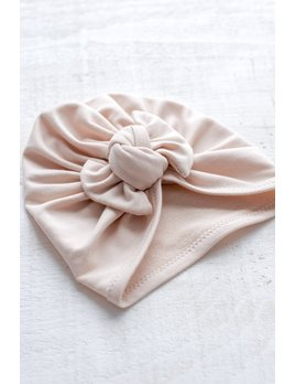 Mini Bretzel Simple Bow Turban - Color Choices