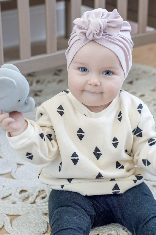 Mini Bretzel Turban Simple Boucle - Choix Couleurs