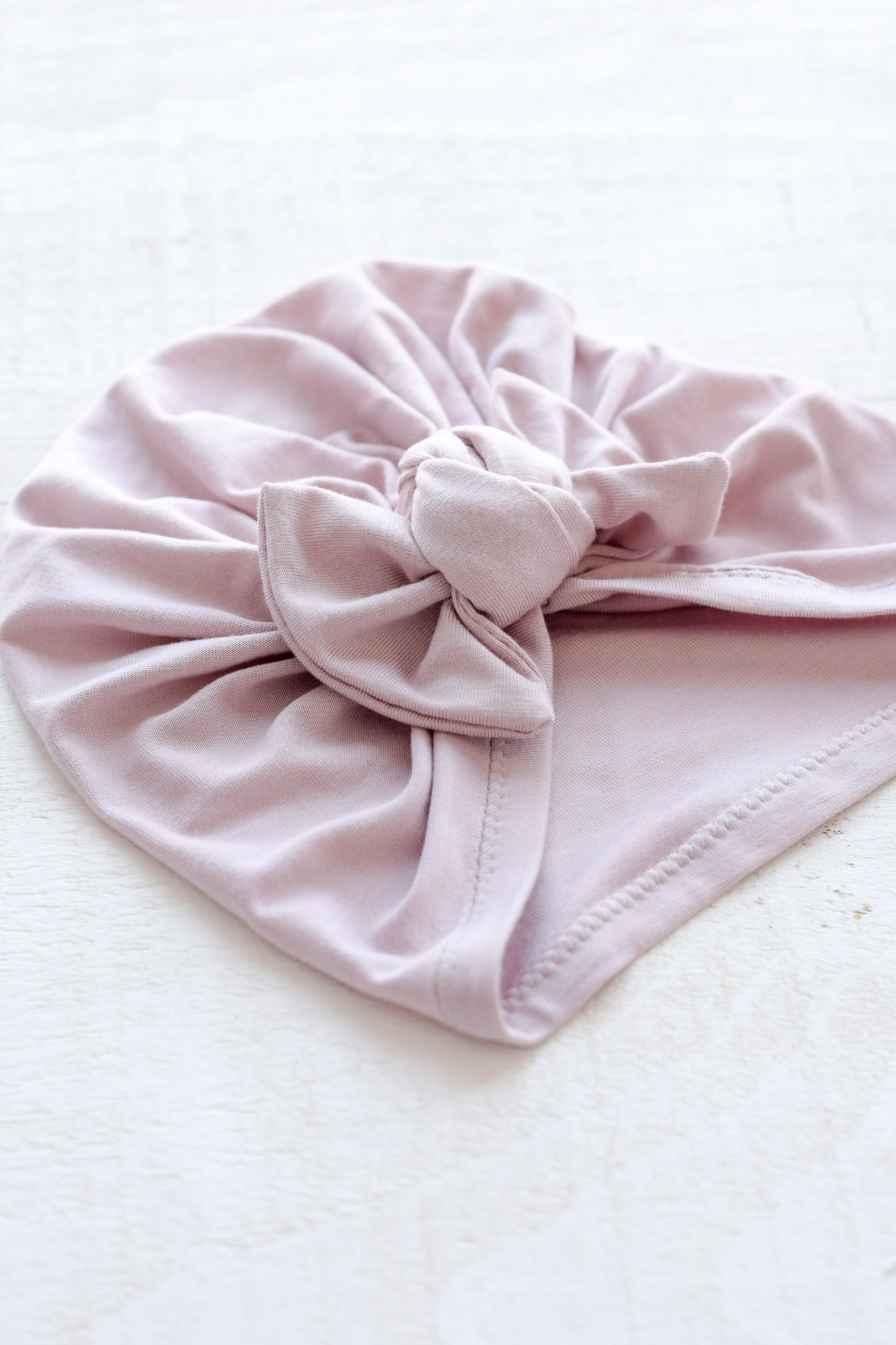 Mini Bretzel Simple Bow Turban - Color Choices