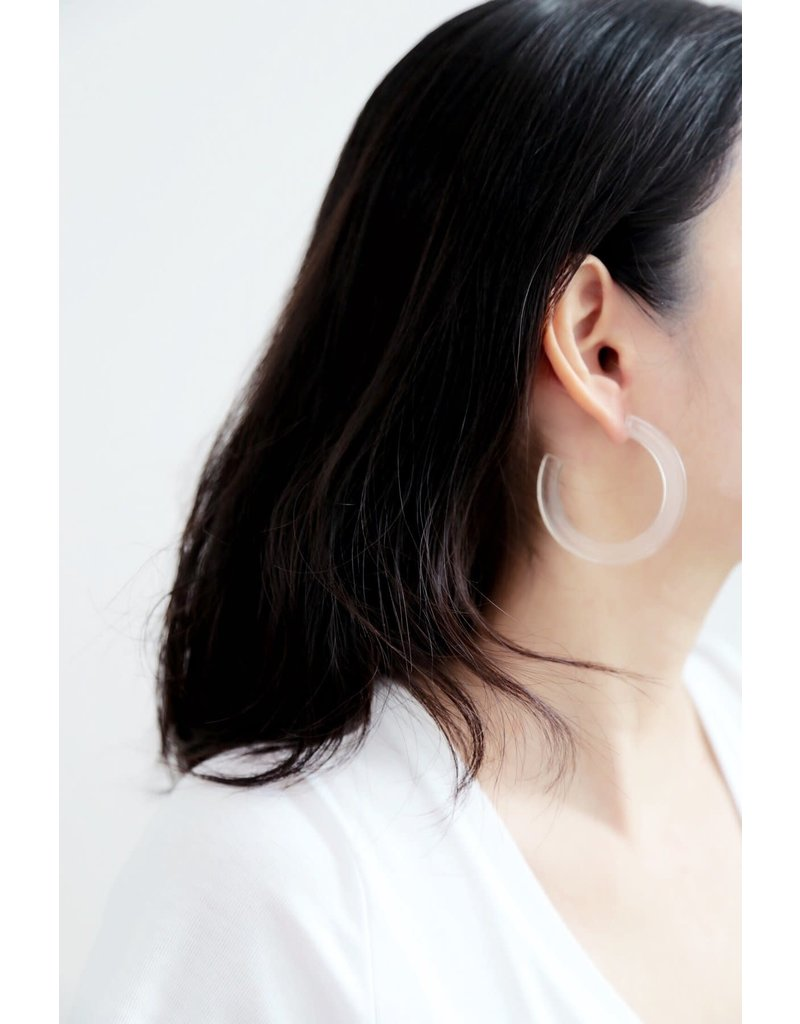 Belmto Plain Acrylic Earrings