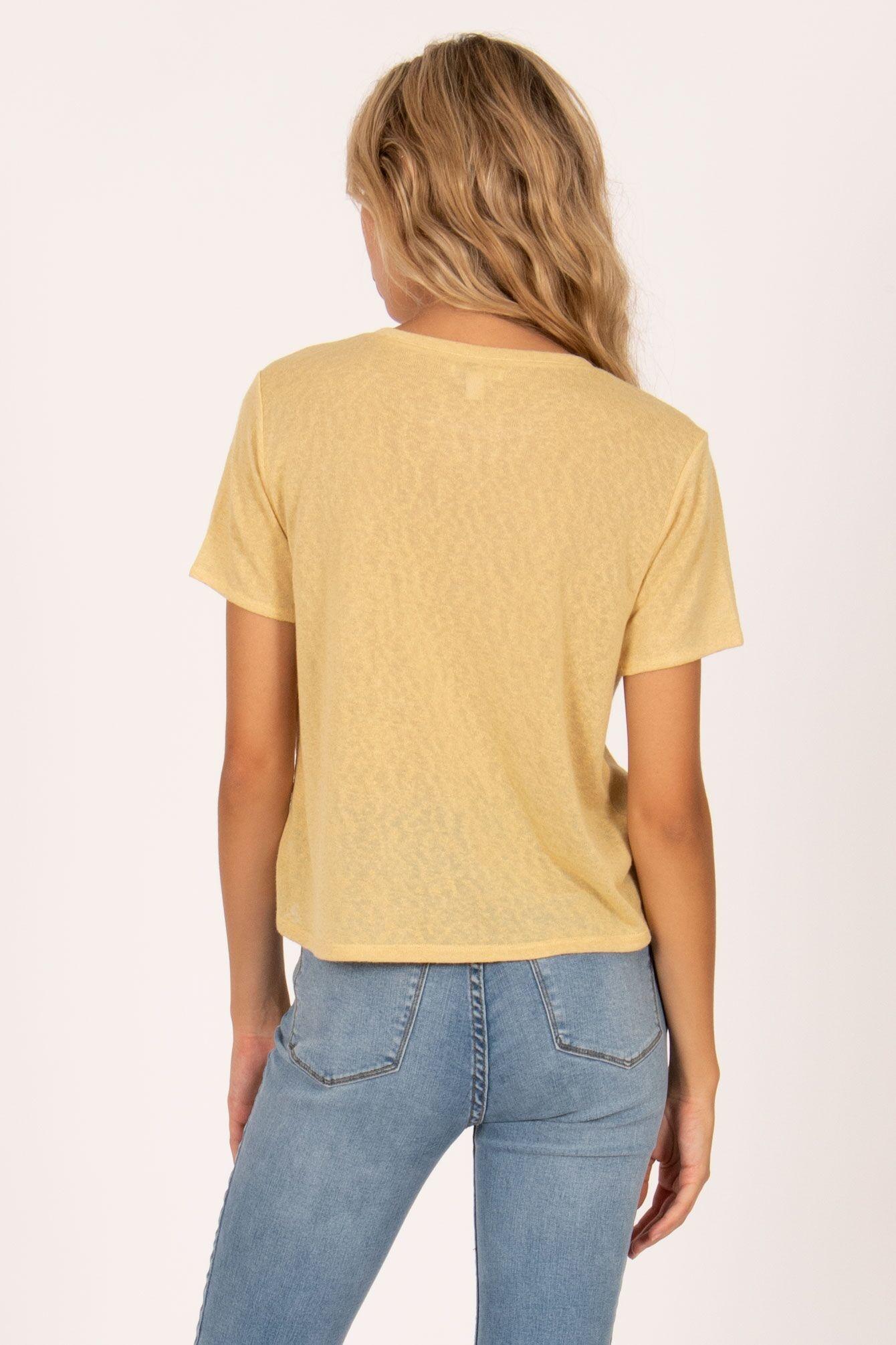 Amuse Society T-shirt Ginger