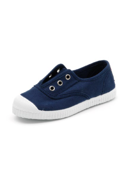 Cienta Navy Canvas Shoes
