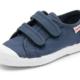 Cienta Chaussures Velcro Bleu