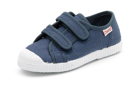 Cienta Blue Velcro Shoes