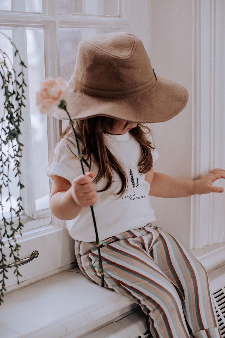 Bajoue T-shirt Je Sème du Bonheur