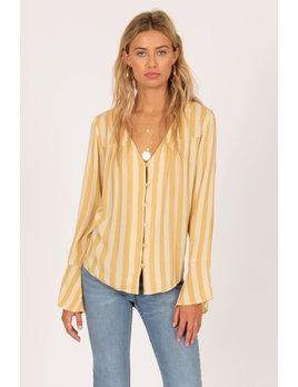 Amuse Society Blouse Always Something