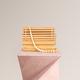Looks Like Summer Natural Bamboo Amelie Bag