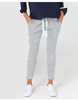Legoe Navy Striped Lounge Pants