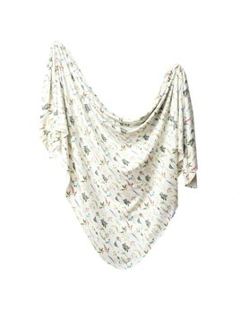 Copper Pearl Aspen Swaddle Blanket