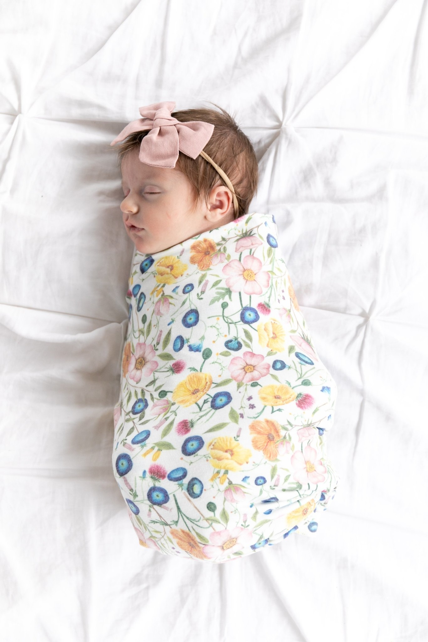 Copper Pearl Isabelle Swaddle Blanket