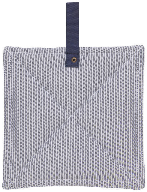 Danica/Now Navy Stripes Potholder
