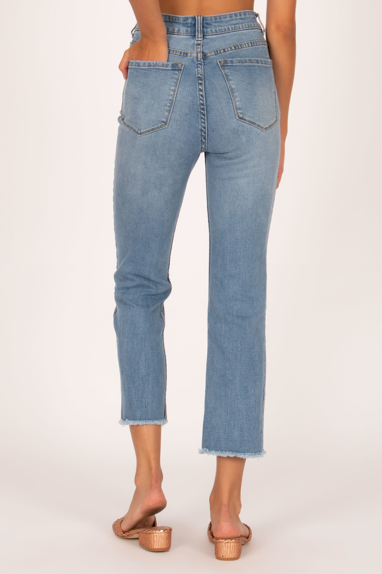 Amuse Society Black La Vida Jeans