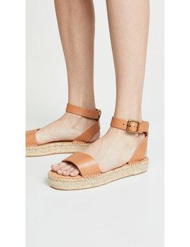 Soludos Cadiz Nude Sandals