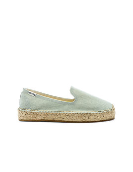 Soludos Plateform Chambray Slippers