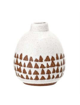 Bloomingville Vase Grès Terracotta