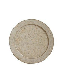Bloomingville Stoneware Beige Speckled Plate