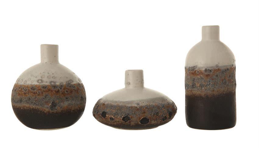 Bloomingville Vase Grès Dégradé - Plusieurs Choix