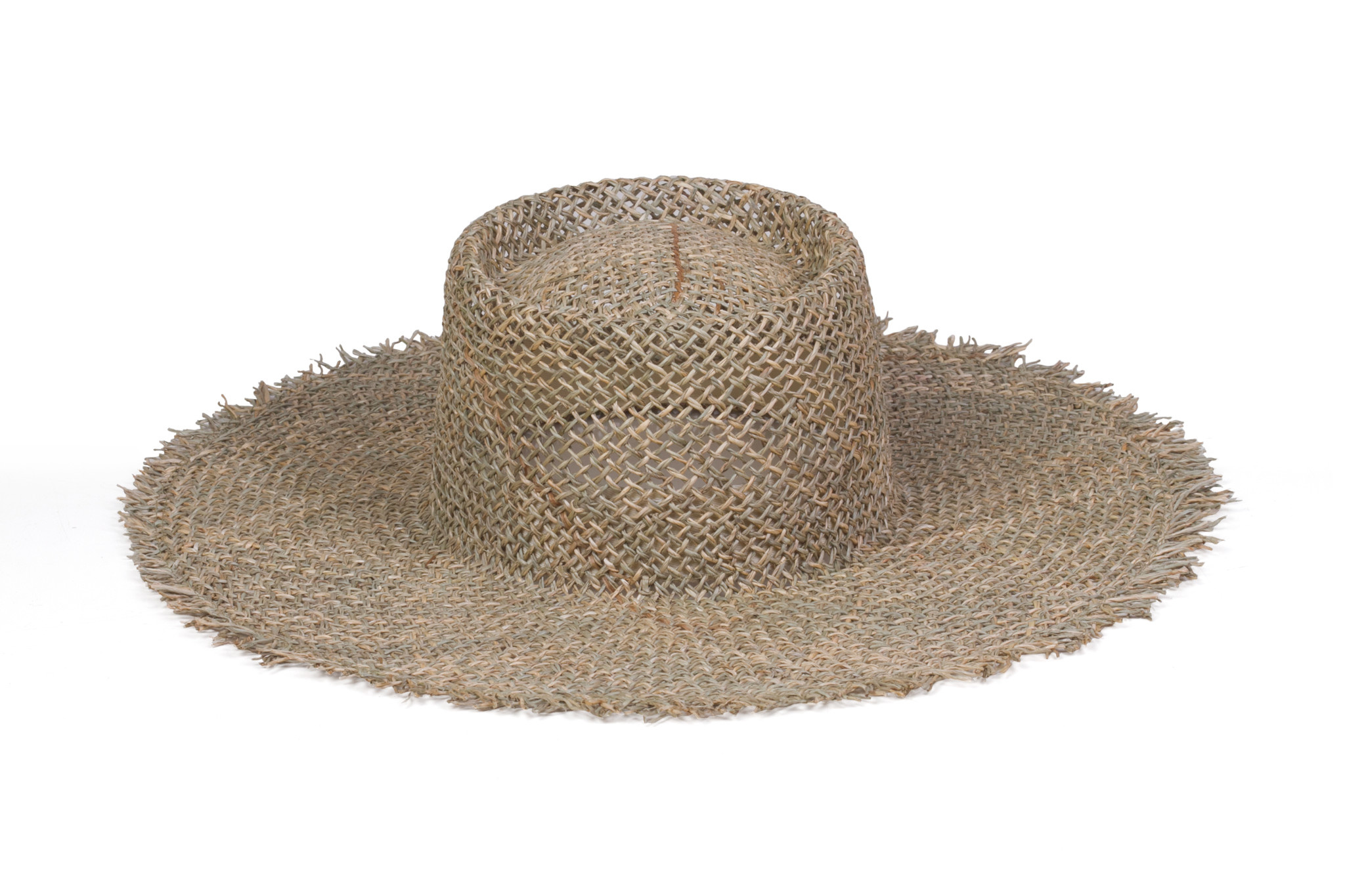 Lack of Color Fray Boater Hat