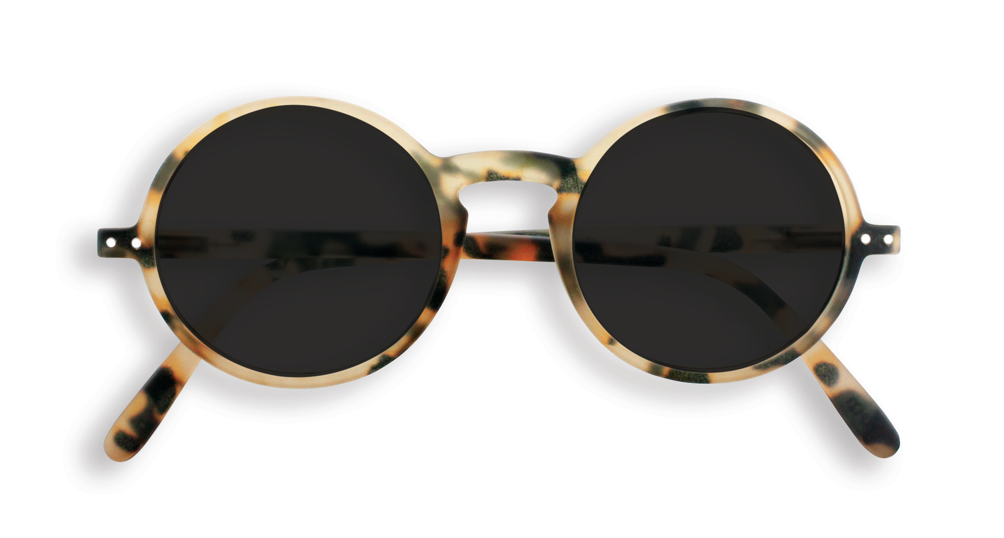 Izipizi Light Tortoise Round Sunglasses
