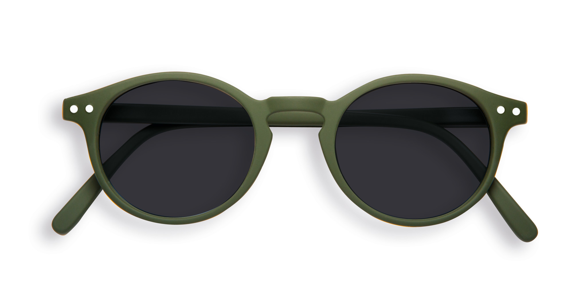Izipizi Kaki Retro Sunglasses