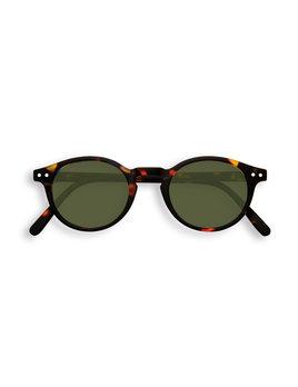Izipizi Green Tortoise Round Sunglasses