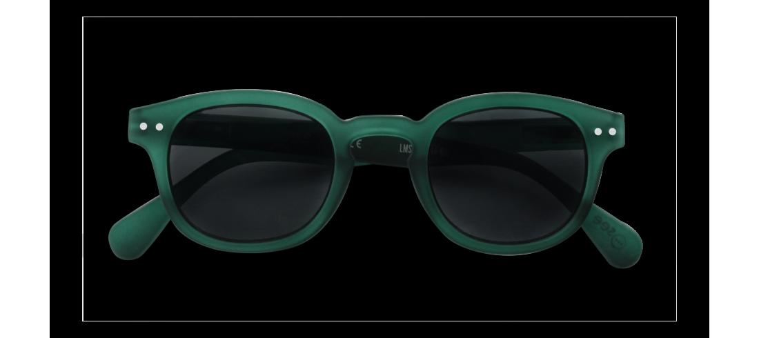 Izipizi Lunettes de Soleil Junior Cristal Vert