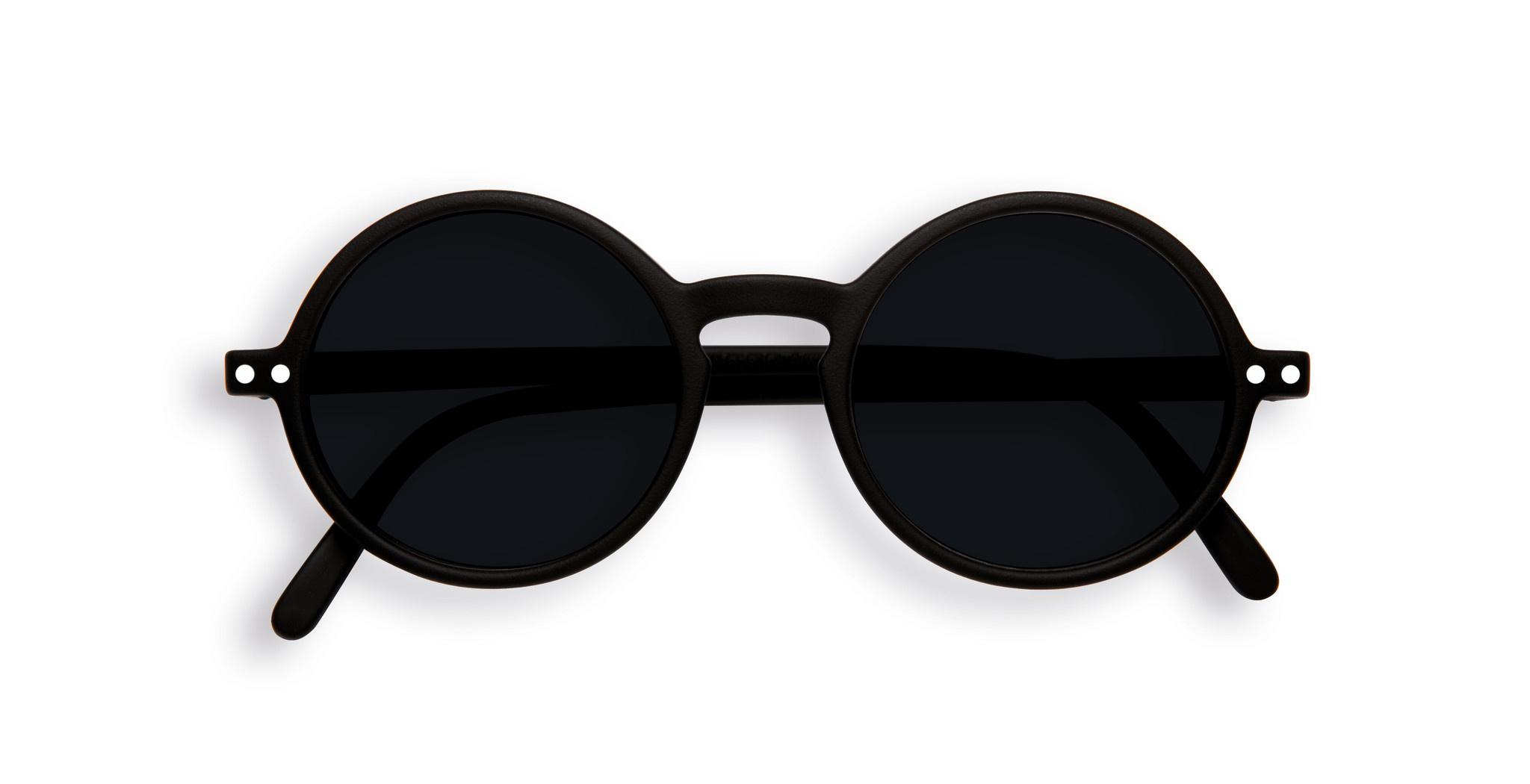 Izipizi Black Retro Junior Sunglasses