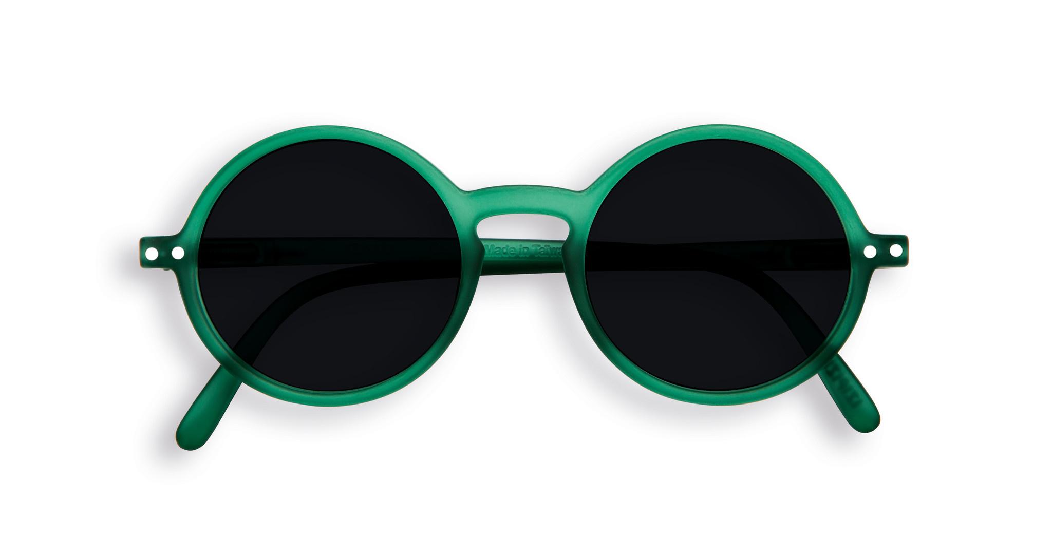 Izipizi Green Retro Junior Sunglasses