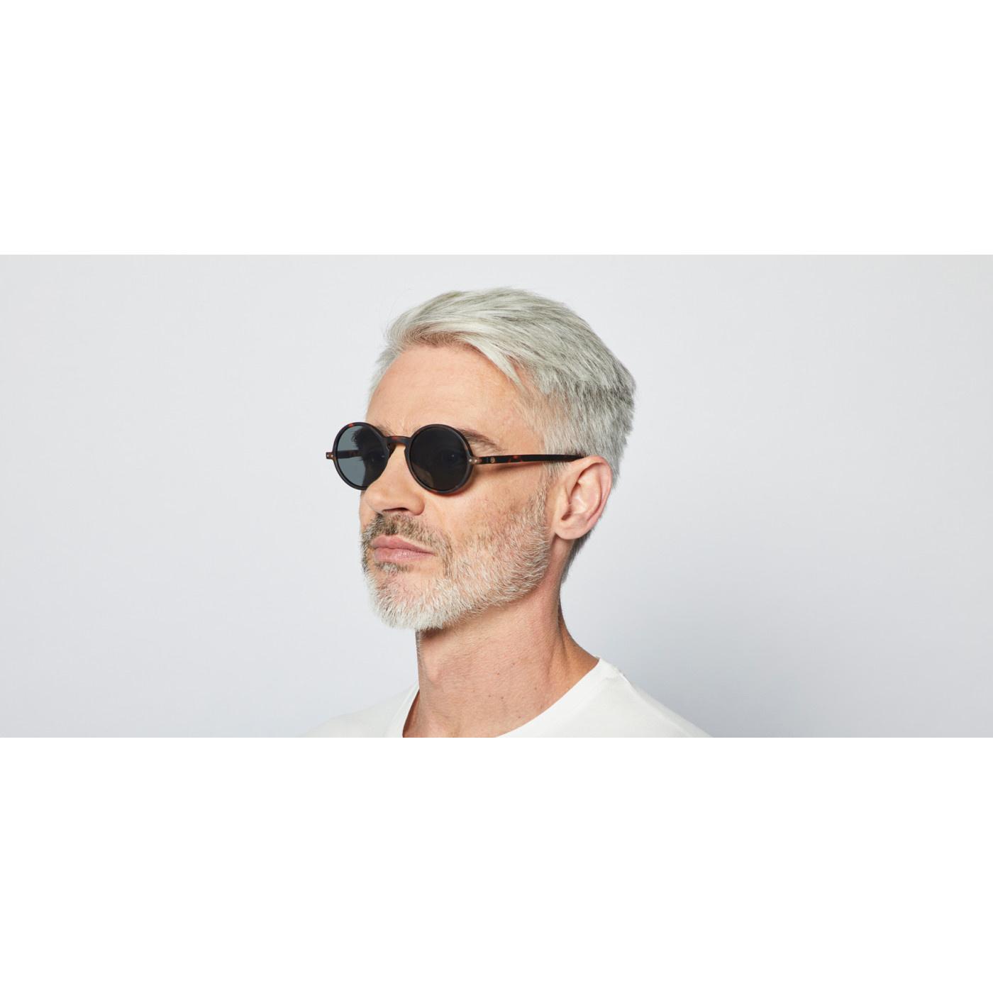 Izipizi Round Tortoise Sunglasses