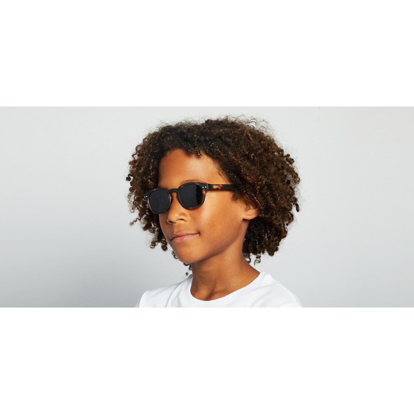 Izipizi Green Crystal Junior Sunglasses