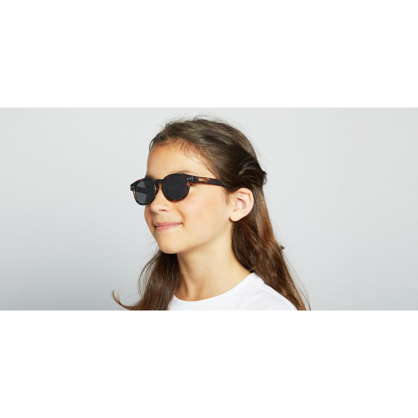 Izipizi Soft Black Junior Sunglasses