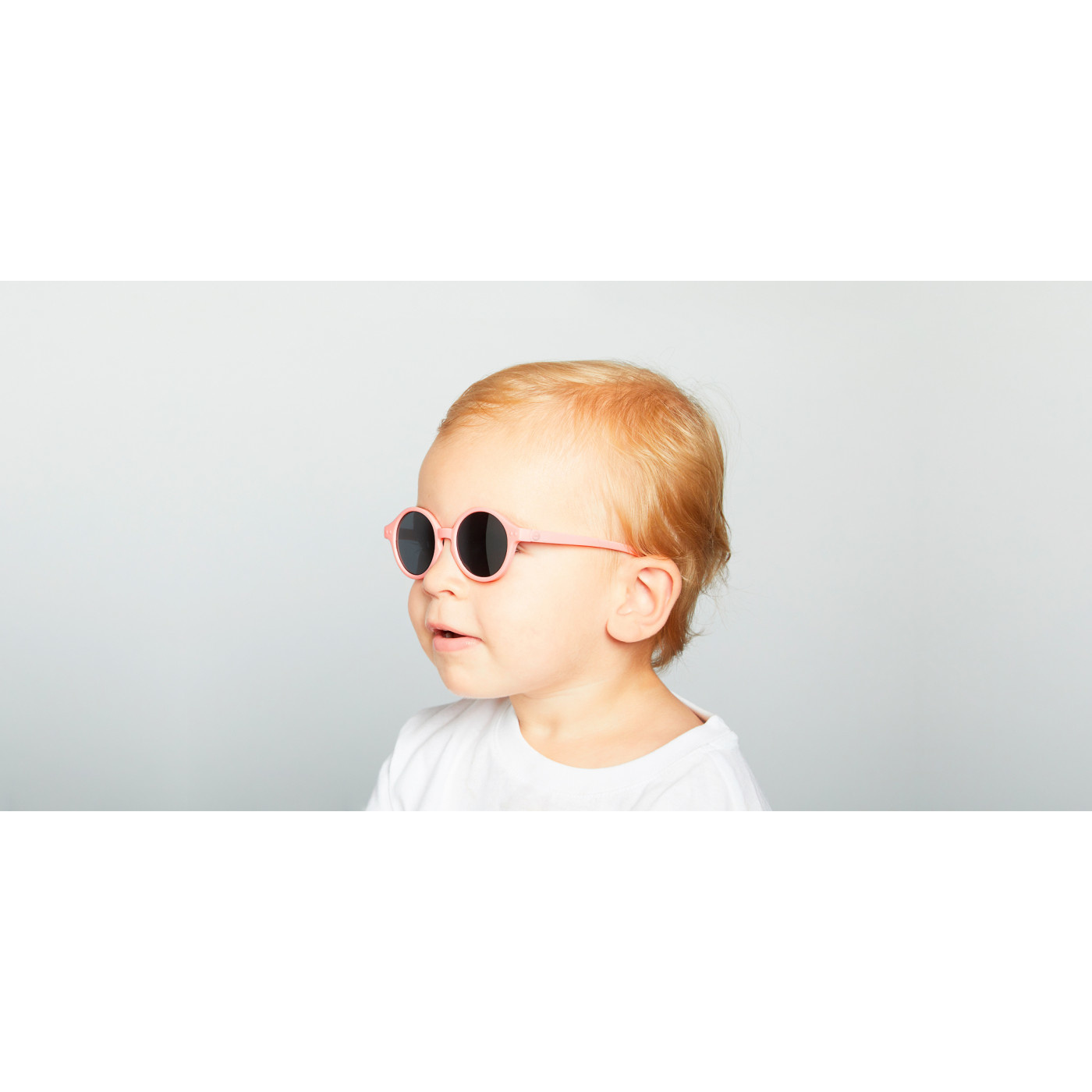 Izipizi Pastel Pink Kids Sunglasses