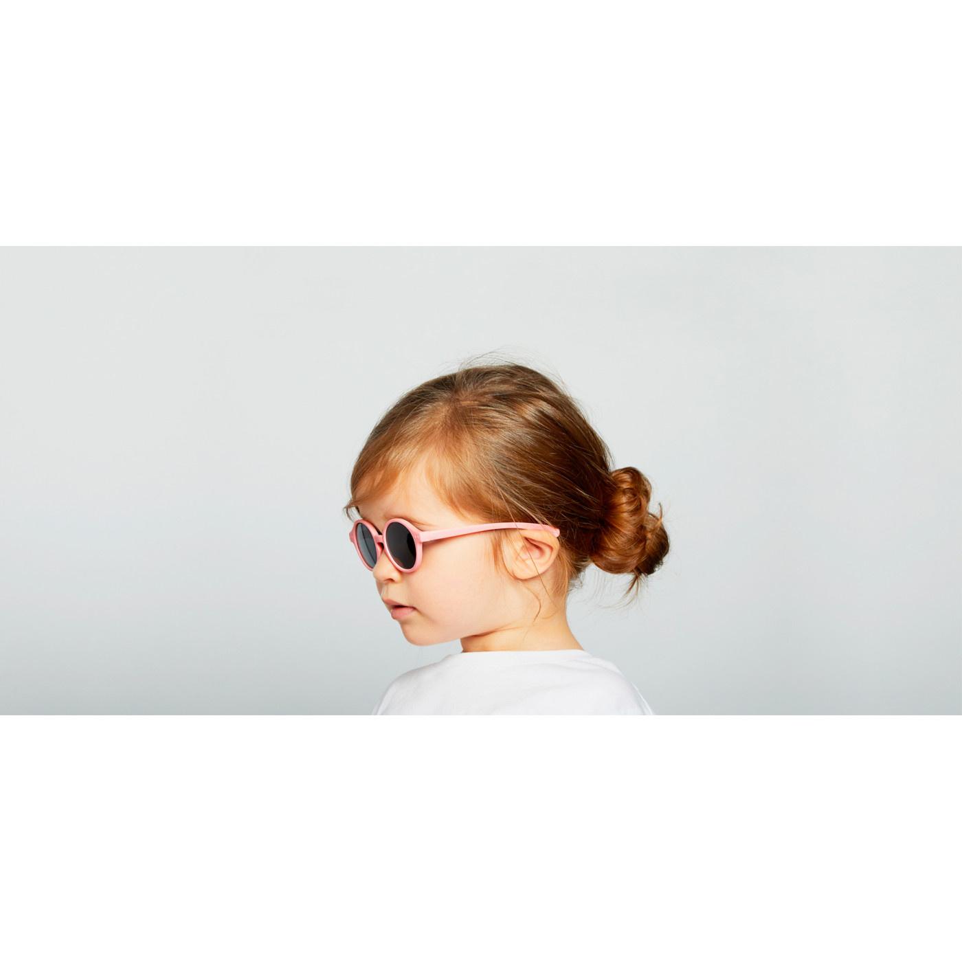 Izipizi Lunettes de Soleil Enfant Rose Pastel