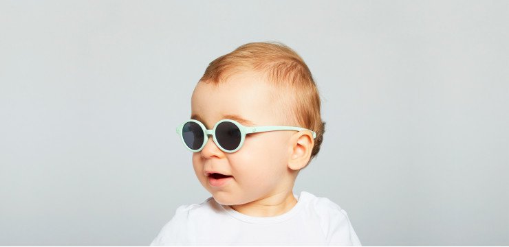 Izipizi Sky Blue Kid Sunglasses