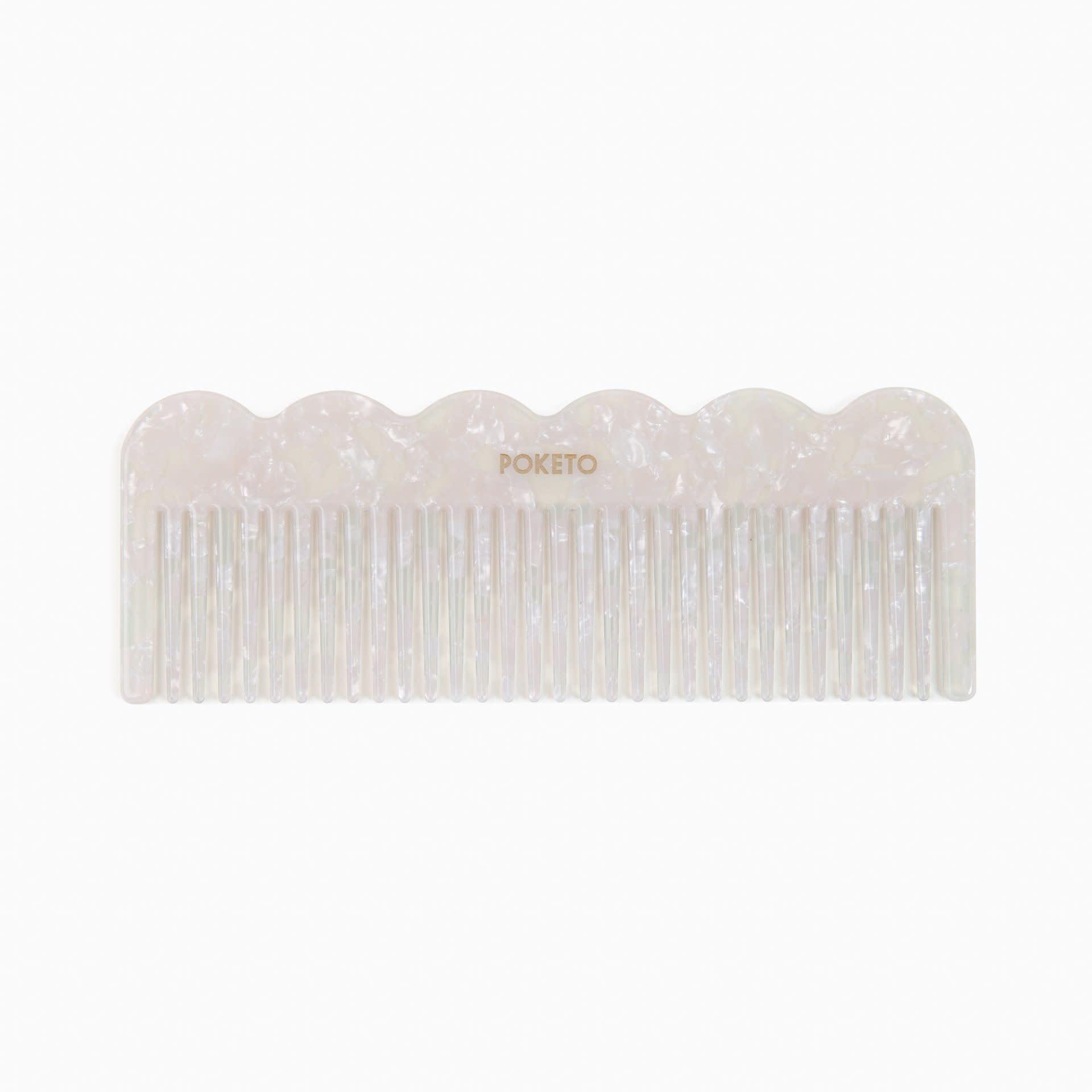 Poketo Pearl Wavy Comb