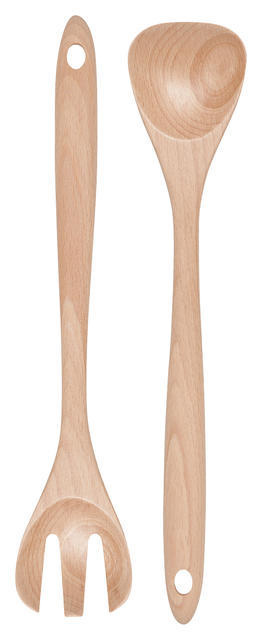 Danica/Now Beech Wood Salad Servers