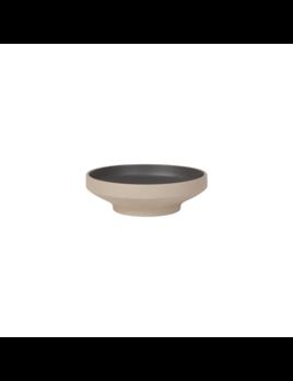 Danica/Now Large Matte Black Contour Bowl