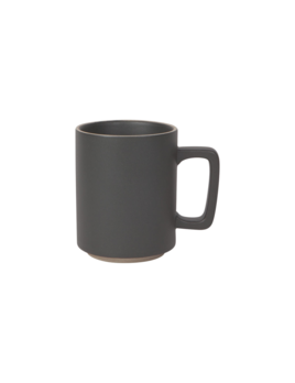 Danica/Now Black Matte Contour Mug