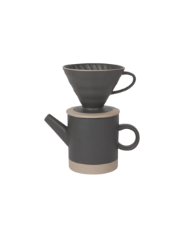 Danica/Now Black Matte Coffee Set