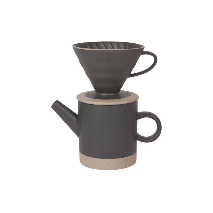 Danica/Now Black Matte Coffee Set