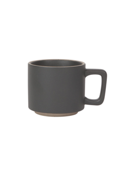 Danica/Now Small Contour Black Matte Mug