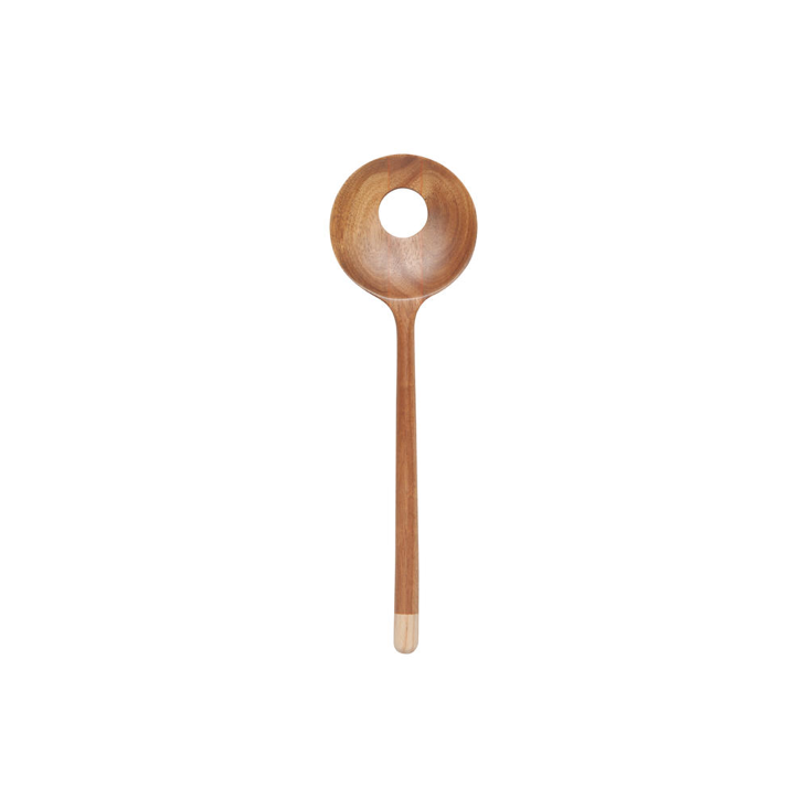 Danica/Now Acacia Slotted Spoon