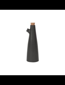 Danica/Now Black Matte Vinegar Bottle